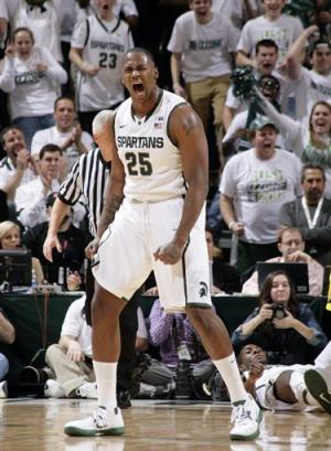 No. 8 Michigan State routs No. 4 Michigan 75-52