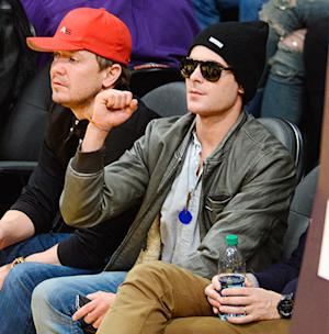 Zac Efron Shows Off 6 Months Sobriety Chip From AA Post-Rehab at a Basketball Game