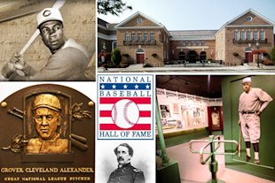 No baseball road trip is complete without a stop at baseball's ultimate shrine, The Hall of Fame.