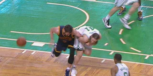 Kelly Olynyk on Kevin Love's 'bush league' accusation: 'That's ridiculous'