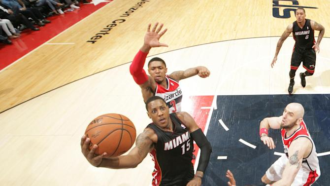 Heat lose 114-93 to Wizards; Pacers get top seed