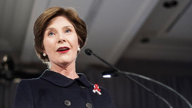 Laura Bush Says Republicans 'Frightened' Women