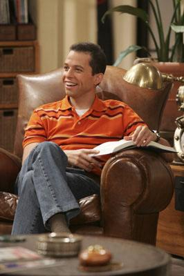 "Jon Cryer as Alan CBS' ""Two and a Half Men"""