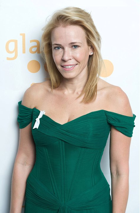 Chelsea Handler poses backstage at the 20th Annual GLAAD Media Awards at Hilton San Francisco May 9, 2009 in San Francisco, California.