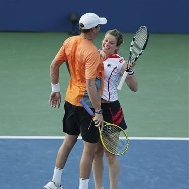 Clijsters wins in mixed doubles to stay at US Open The Associated Press Getty Images Getty Images Getty Images Getty Images Getty Images Getty Images Getty Images Getty Images
