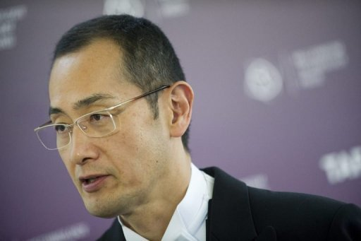 <p>Shinya Yamanaka of Japan, seen here in June, and John B. Gurdon of Britain have won the Nobel Medicine Prize for their groundbreaking work on stem cells, the jury said.</p>