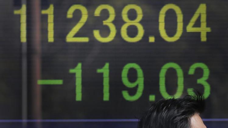 China gives markets a lift at end of bruising week