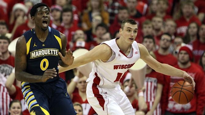 NCAA Basketball: Marquette at Wisconsin
