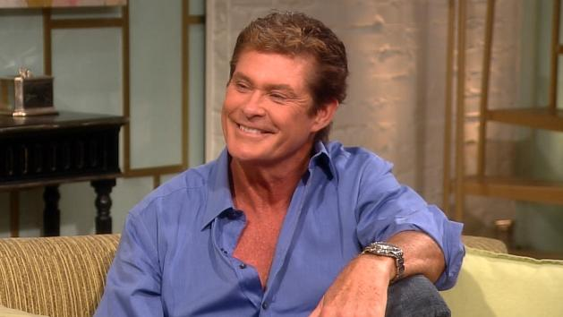 David Hasselhoff on Access Hollywood Live on July 20, 2012 -- Access Hollywood