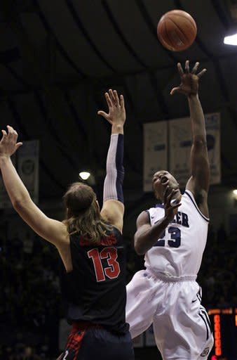 No. 13 Butler steals 64-63 win over No. 8 Gonzaga