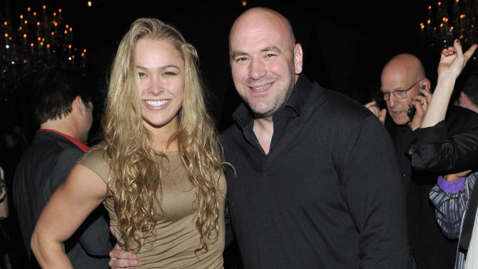 Ronda Rousey and Dana White
