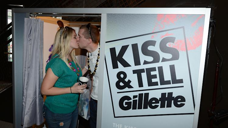 Gillette's Kiss & Tell Live National Experiment