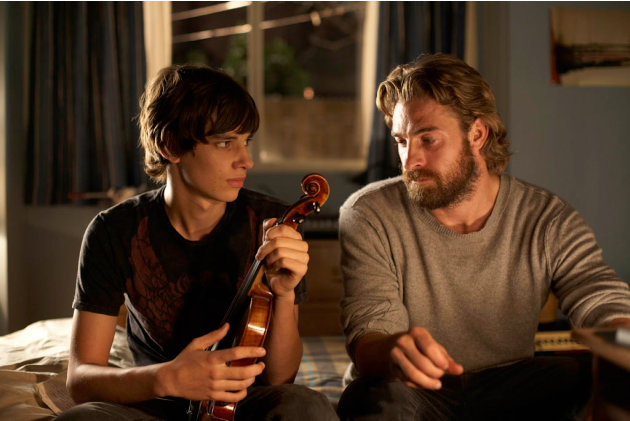 Devon Bostick Scott Speedman Adoration Production Stills Sony Pictures Classics 2009