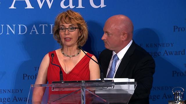 """Gabrielle Giffords: """"I wish there was more courage in Congress"""""""