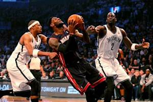 NBA: Playoffs-Miami Heat at Brooklyn Nets