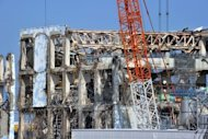 A view of the crippled fourth reactor at the Fukushima Dai-ichi nuclear power plant in February 2012. Japanese PM Yoshihiko Noda insists the country will go nuclear free as he rebutts criticism that his government is unable to come up with a coherent position on the issue
