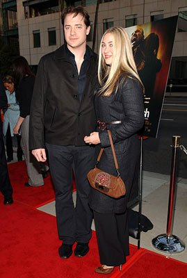 Brendan Fraser and wife Afton Smith at the Beverly Hills premiere of Lions Gate Films' Crash