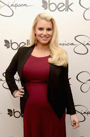 Jessica Simpson visits Belk Southpark in Charlotte, North Carolina on March 23, 2013 -- Getty Images