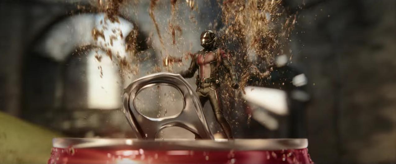 Marvel And Coke's Hulk And Ant-Man Behind-The-Scenes Featurette Released