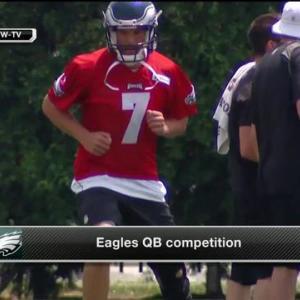 NFL Media's Shaun O'Hara and David Garrard analyze quarterback Sam Bradford and the Eagles quarterback situation
