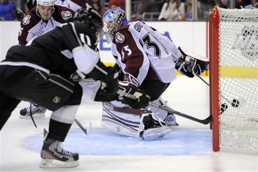 Mueller scores again in Avs' 3-1 win over Kings