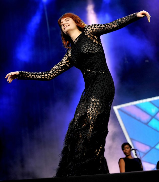 Florence Welch goes gothic at Reading & Leeds Festival in Marina Qureshi