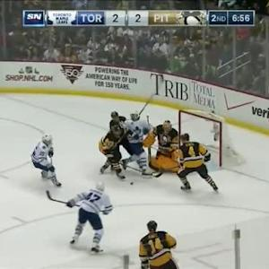 Marc-Andre Fleury Save on Korbinian Holzer (13:04/2nd)