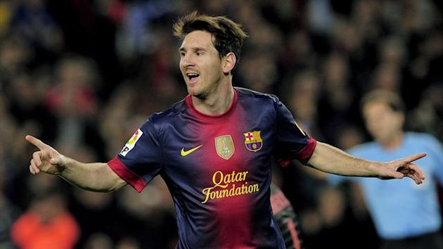 FOOTBALL - 2012/2013 - Barcelona- Messi
