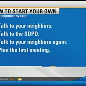 Learn how to start your own neighborhood watch