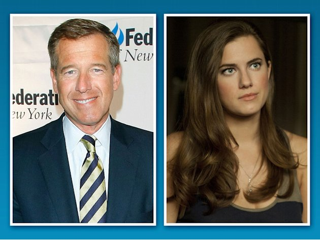 Brian Williams and Allison …