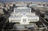 <p>The US Federal Reserve Building is seen from the air over Washington, DC in 2008. The Federal Reserve's top policy makers are expected to shy away from taking new economic stimulus measures when they meet Tuesday and Wednesday, instead waiting until the economic picture becomes clearer.</p>