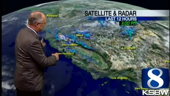 Watch your Monday night KSBW weather forecast 04.01.13