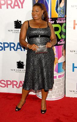 Queen Latifah at the New York premiere of New Line Cinemas' Hairspray