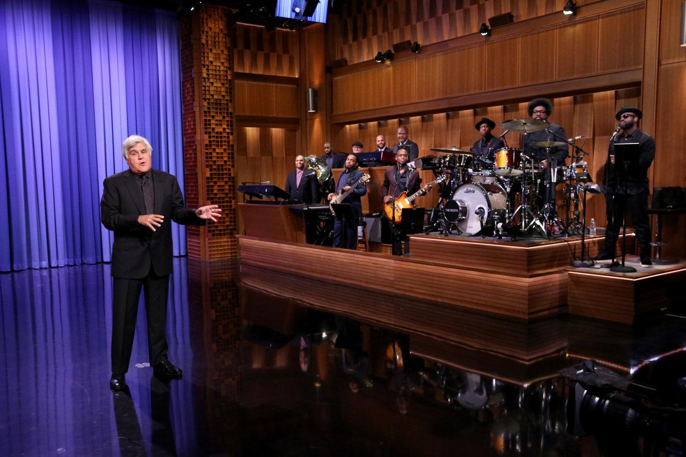 Jay Leno Subs for Jimmy Fallon on a Special 'Tonight Show'