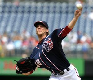 Detwiler, LaRoche give Nationals 1st winning year