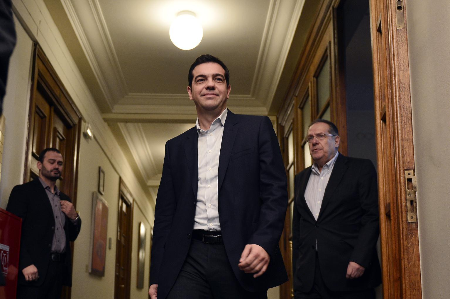 Greek government reverses austerity policies, stocks hit