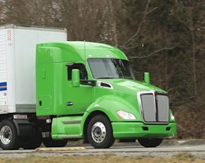 Kenworth T680 Powered by Natural Gas Engines