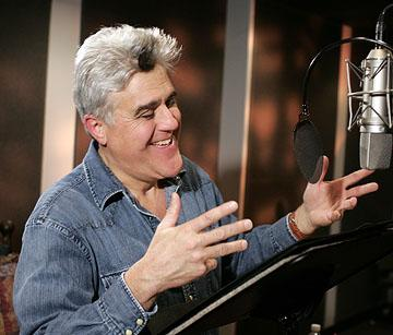 Jay Leno as the voice of Fast Tony in 20th Century Fox's Ice Age 2: The Meltdown