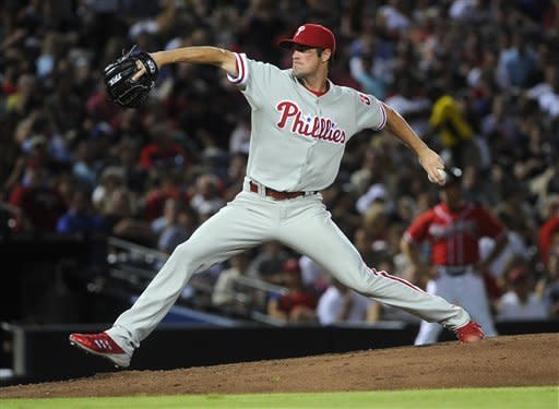 Sheets, Braves beat Hamels, Phillies, 6-1