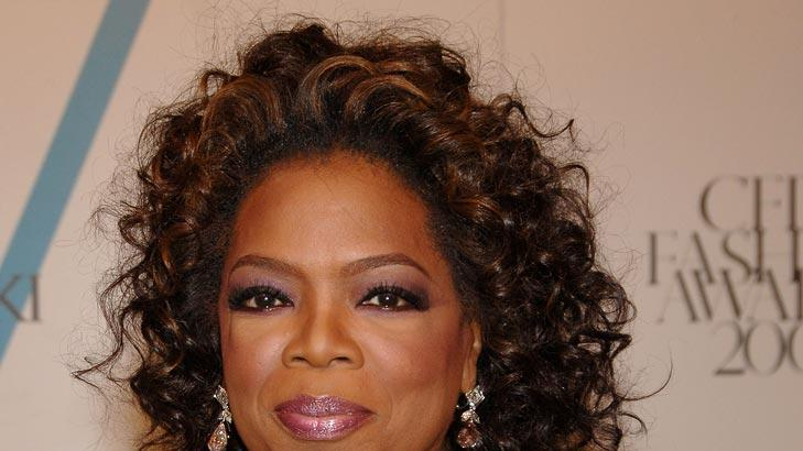 Oprah Winfrey at the 2007 CFDA Fashion Awards.