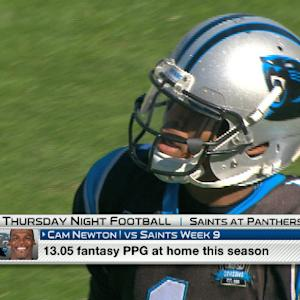 'NFL Fantasy Live': Carolina Panthers TNF Preview