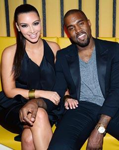 PIC: New Couple Kim Kardashian, Kanye West Hit the Opening of Scott Disick's Restaurant