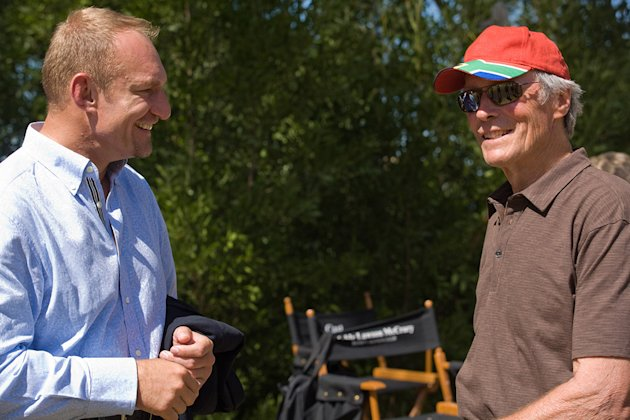 Invictus Production Photos 2009 Warner Bros. Clint Eastwood Francois Pienaar