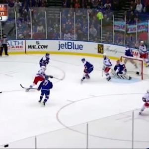 Jaroslav Halak Save on Marc Staal (13:29/1st)