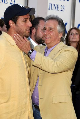 Premiere: Adam Sandler and Henry Winkler at the LA premiere of Columbia's Click - 6/14/2006
