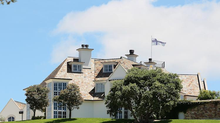 General View of Kim Dotcom's Auckland Property