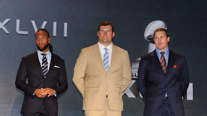 NFL: Super Bowl XLVII-2013 Walter Payton NFL Man of the Year Award Press Conference