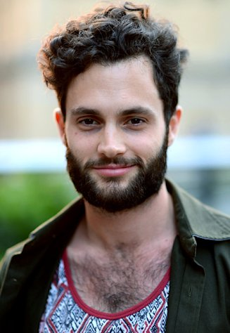 "Penn Badgley: ""I Know Everyone Hates"" My Bushy Beard"