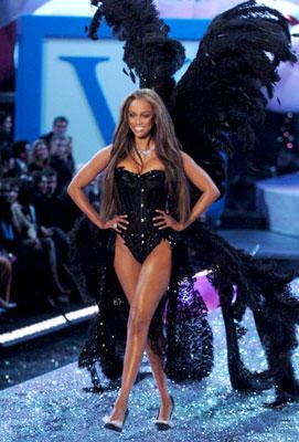 Tyra Banks Victoria's Secret 10th Fashion Show on CBS