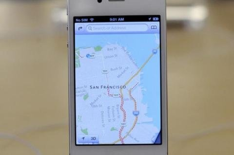 Apple tenders apology over map app errors